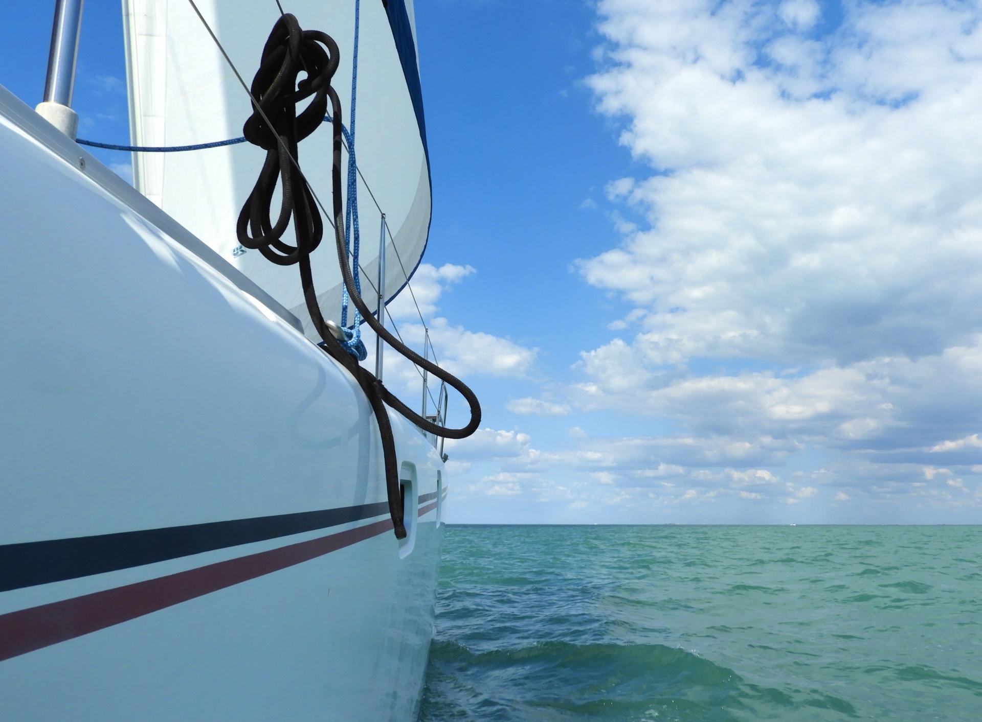 Sailing Charlotte Harbor