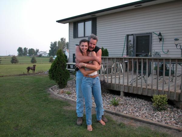 Dan & Agnes at home in South Dakota