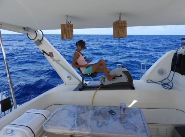 Writing While Sailing