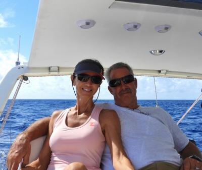 Dan & Agnes Sailing the Gulf Stream