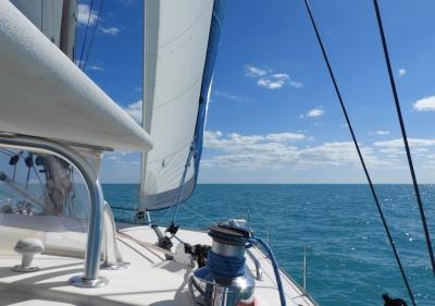 Sailing the Great Bahama Bank