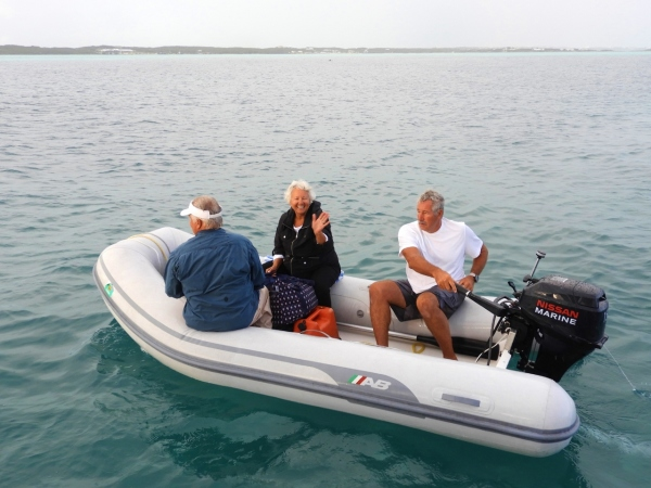 Taking Steve and Jo to Great Exuma