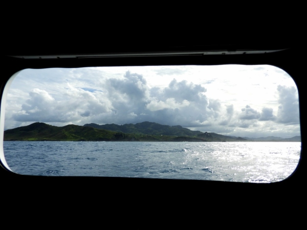 Dominican Republic from Porthole