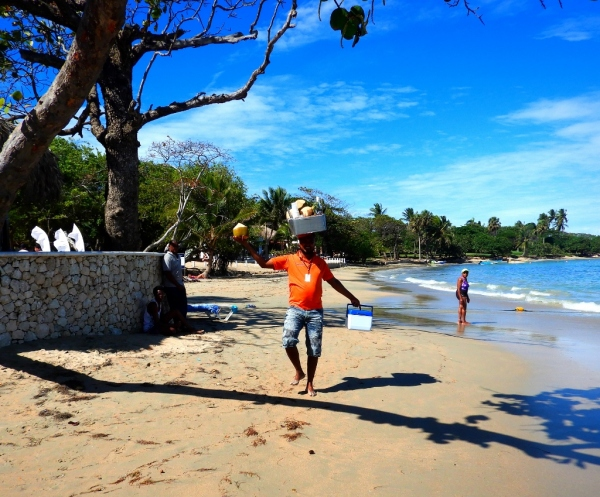 Beach Vendor in Fajardo
