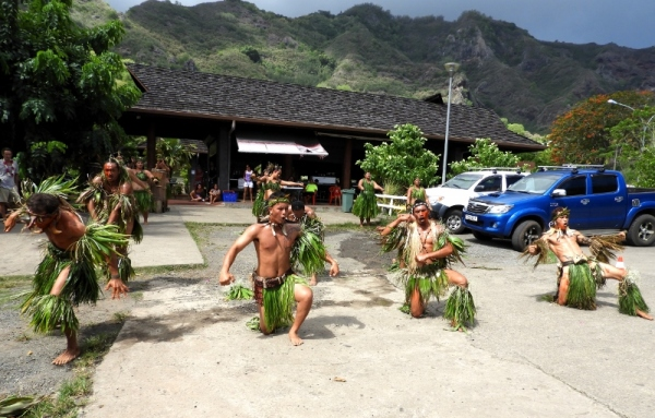 Polynesian Dancers in The Marquesas