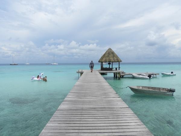 Pier From Kia Ora Resort