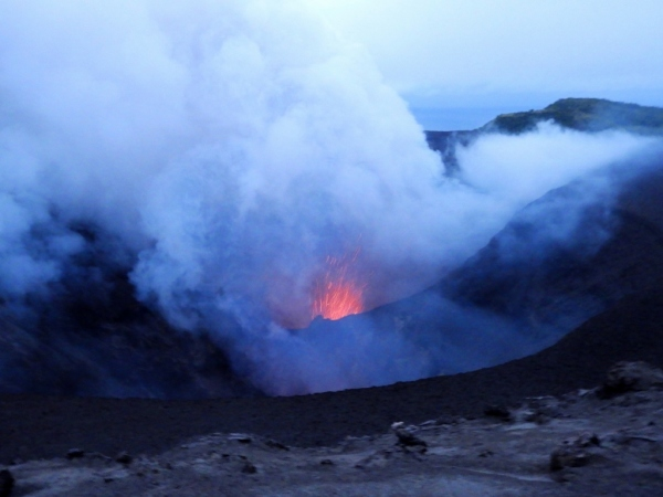 Tanna, Vanuatu Active Volcano
