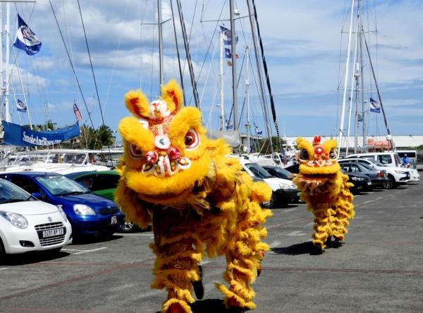Chineses Dancing Dragons