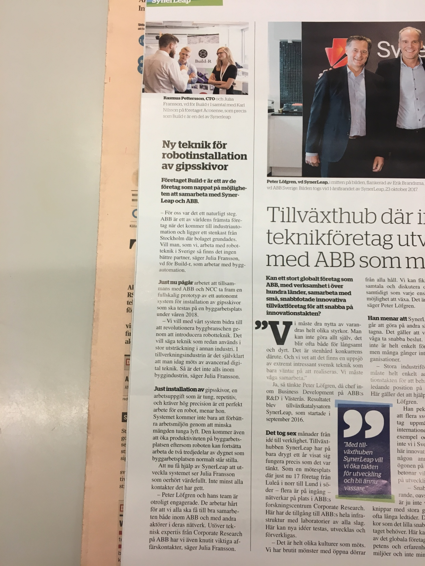 Build-r in Dagens Industri