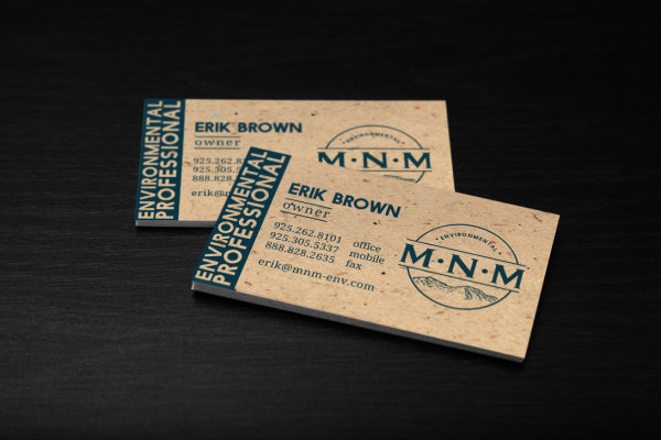 MNM Logo and Buisiness Cards