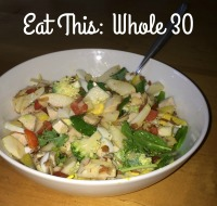What I'm eating on the Whole 30
