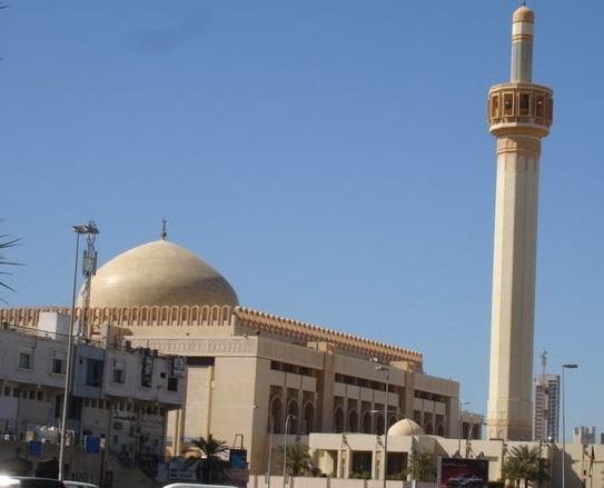 kuwait, kuwait city, mosque in kuwait