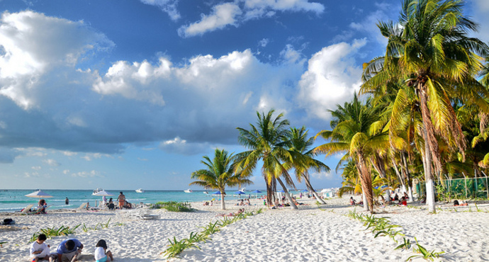 尤卡坦半岛景点 Playa del Norte