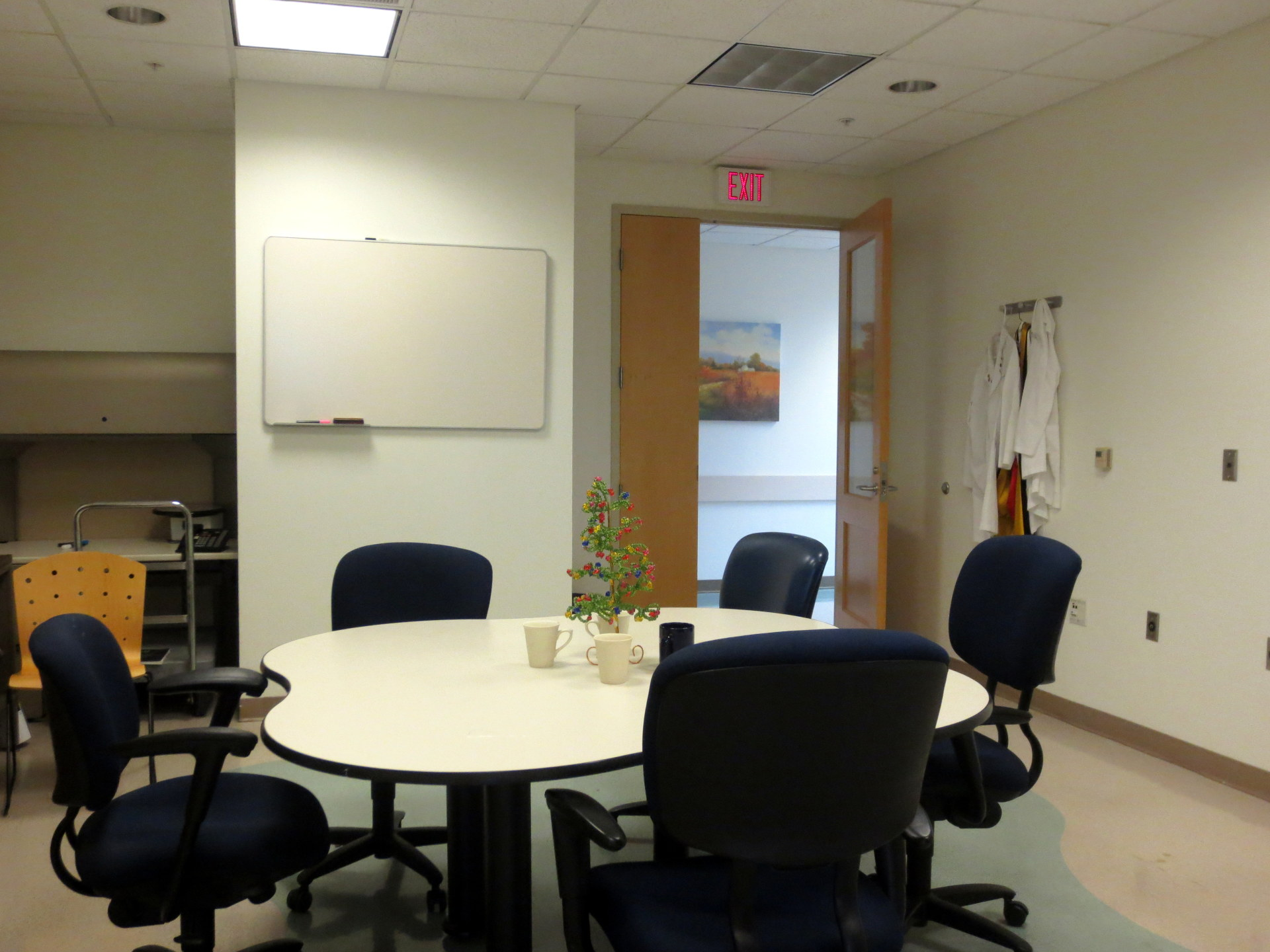 Meeting room, Shmookler Reis Lab at Reynolds Institute on Aging, UAMS.