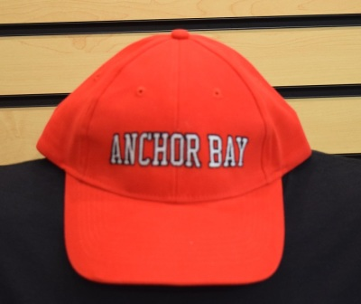 Red Anchor Bay Hat $12