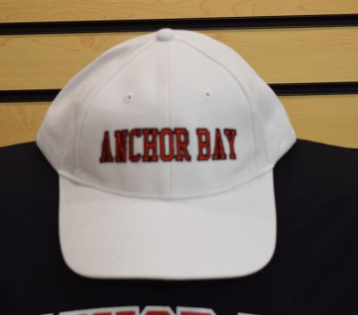 White Anchor Bay Hat $12