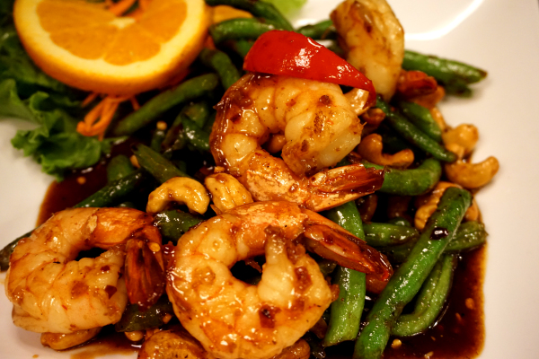 Green Bean with Shrimps