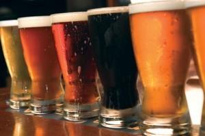 wide beer selection