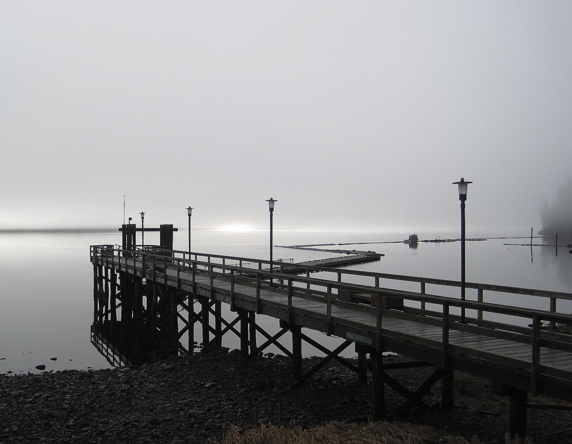 Tahsis Float Plane Dock