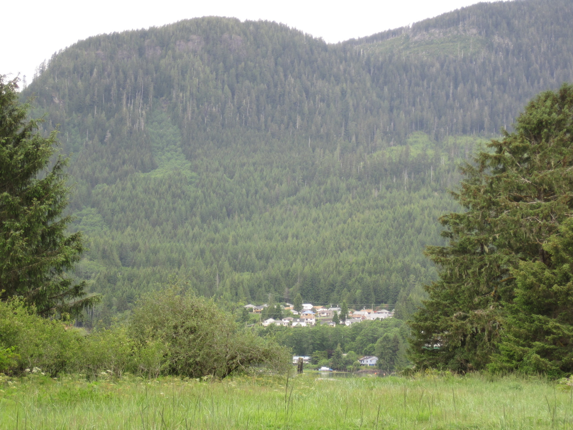 The village of Tahsis