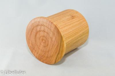 """<img alt=""""cherry wood small round box"""">"""