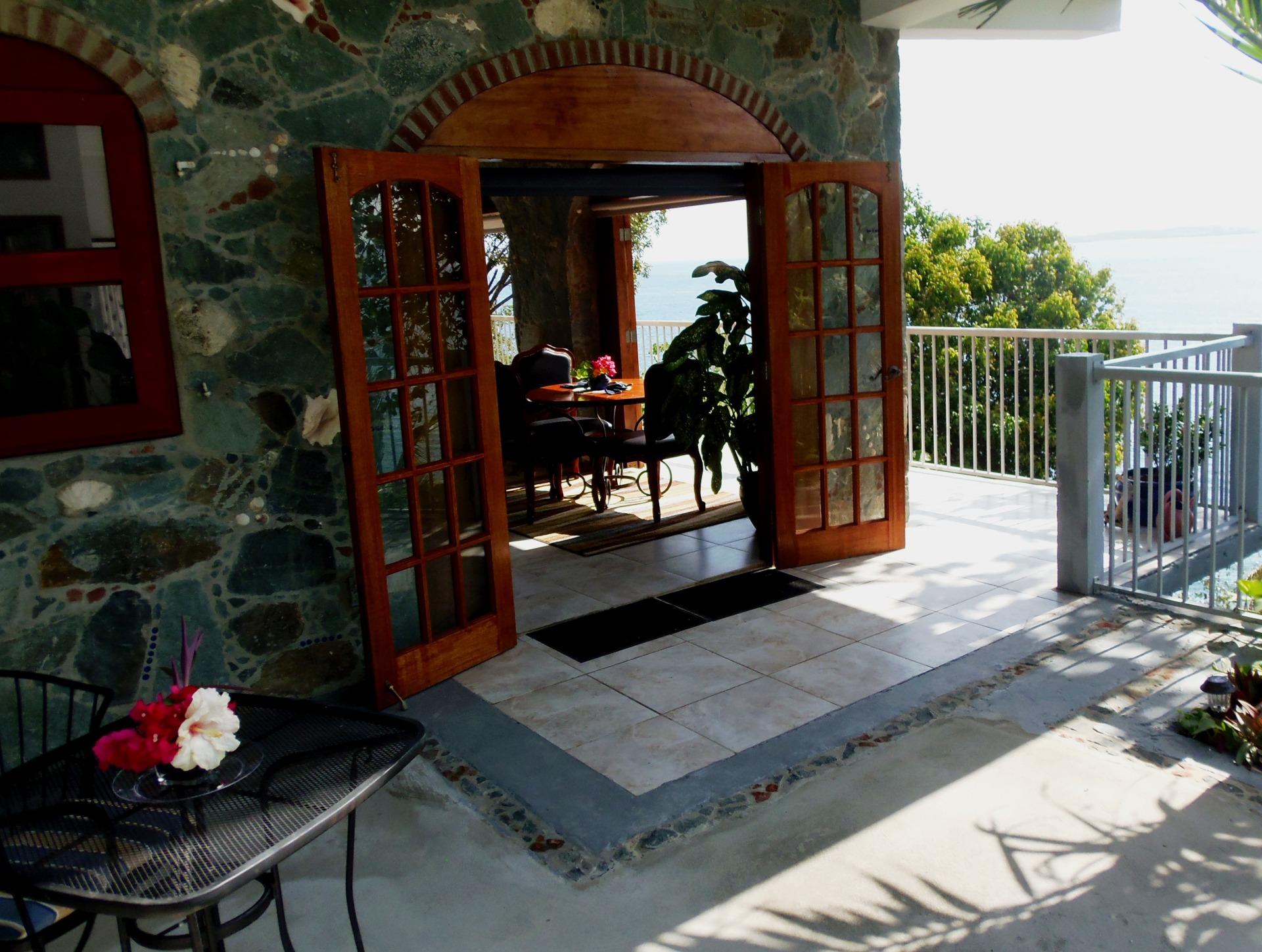 The Open Front Door