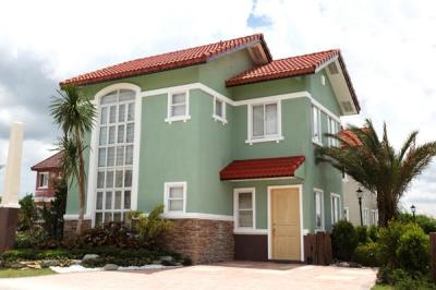 Sabine Single Attached House Bellefort Estates Molino Bacoor House and lot for sale in cavite