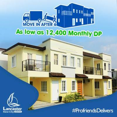 Thea Townhouse in Lancaster New City Cavite House and Lot move in after 6 months
