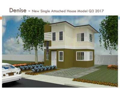 Denise Single Attached House Lancaster New City Cavite Cavite House and Lot