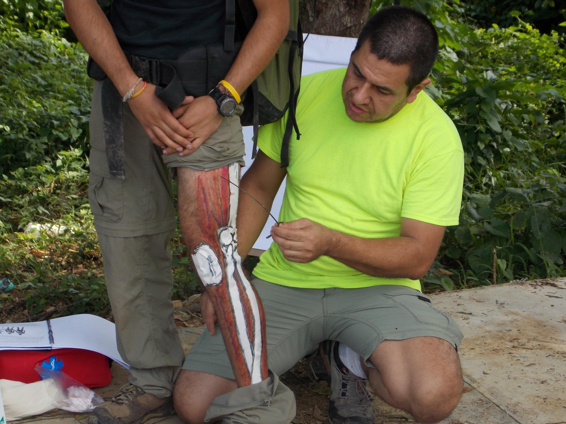 Primeros auxilios en áreas remotas: lesiones músculo-esqueléticas