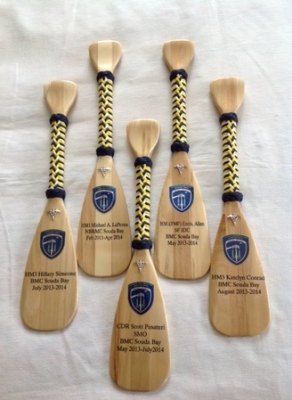 small softwood paddle
