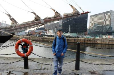 Michael at Albert Dock