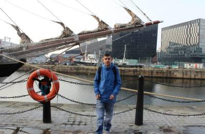 Michael at Albert Dock