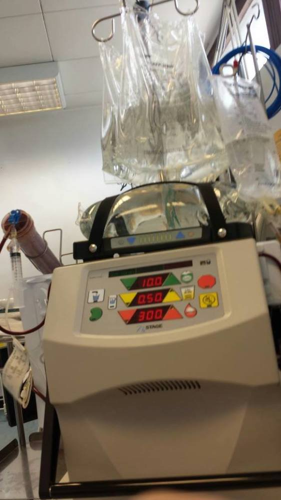 Home hemodialysis nxstage machine