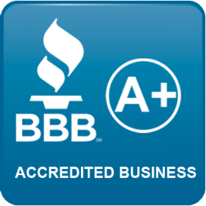 A+ Rating with the BBB!