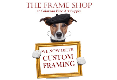 The Frame Shop is Open!