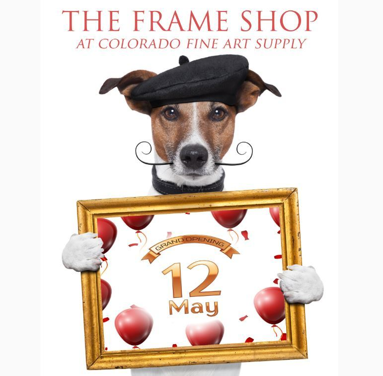 The Frame Shop Grand Opening Party! Friday May 12th 6pm