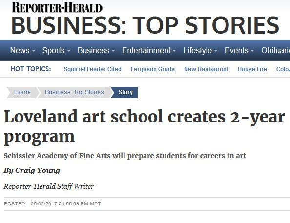 Loveland Reporter-Herald Covers Certificate Program