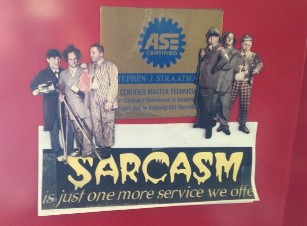 Cuz' you just can't get enuf Sarcasm!