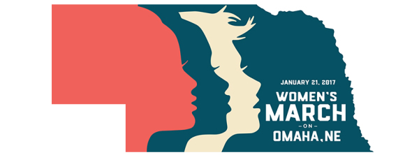 Women's March on Omaha Logo