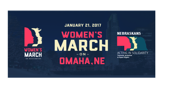 Women's March on Omaha Banner