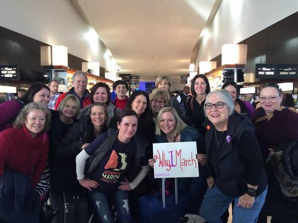 Nebraska Marchers Heading to DC 2