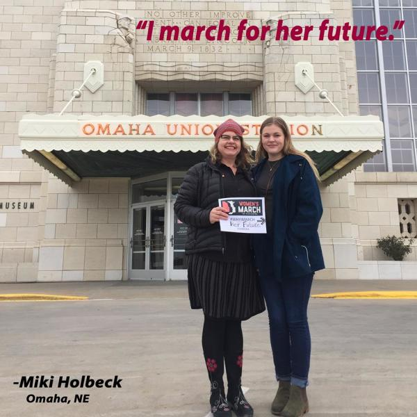 #WhyIMarch 6