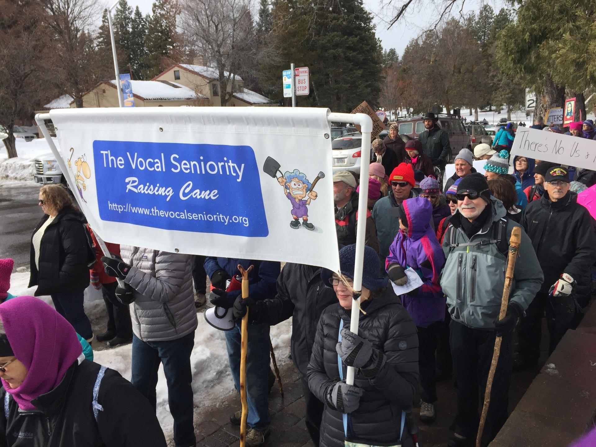Jan 21, 2017 Women's March -- Bend