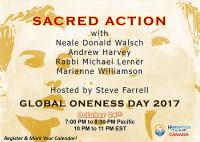 Spiritual Activism, Sacred Action, Spirituality, Telesummit, Global Oneness Day, Oneness