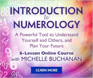 Numerology, Online Program, Michelle Buchanan