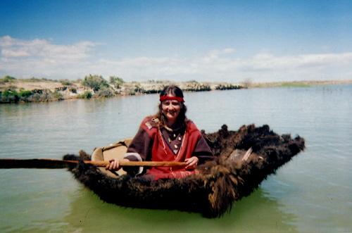 Buffalo Skin CAnoe