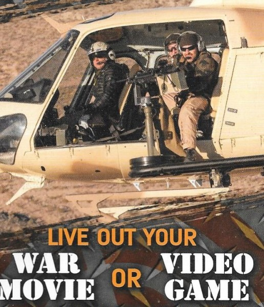 Helicopter Gunship Tours