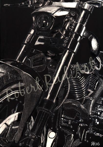 """Harley Diablo – Street Drag Machine"" - FOR SALE"