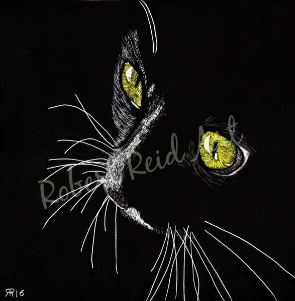 """""""Cat's Eyes"""" - SOLD"""